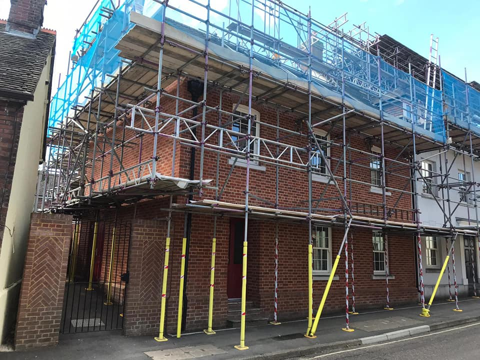 Scaffolding in Dorset and Hampshire